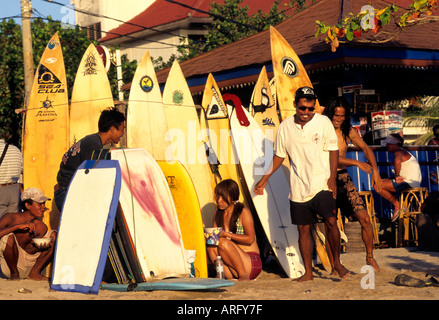 Bali Indonesien Kuta Strand surfen Surf sea - Stockfoto