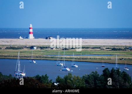 Orford Ness Spieß und Leuchtturm Europas Suffolk East Anglia England UK United Kingdom GB Großbritannien britische - Stockfoto