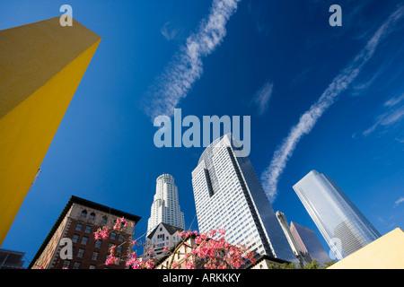 Pershing Square, Los Angeles, California, Vereinigte Staaten von Amerika, Nordamerika - Stockfoto