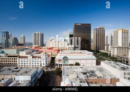 Dächer von San Diego, Kalifornien, Vereinigte Staaten von Amerika, Nordamerika - Stockfoto