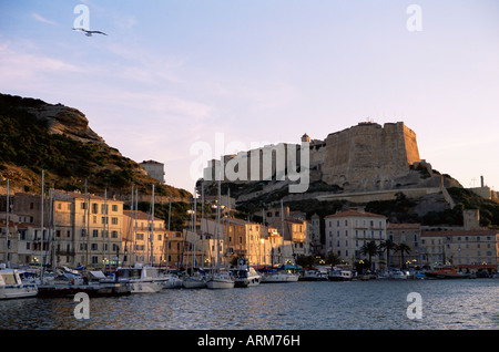 Bonifacio, Korsika, Frankreich, Mittelmeer, Europa - Stockfoto