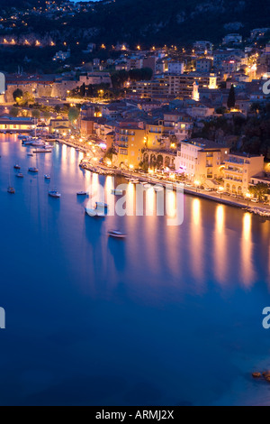 Villefranche-Sur-Mer, Alpes Maritimes, Provence, Cote d ' Azur, Côte d ' Azur, Frankreich, Mittelmeer, Europa - Stockfoto