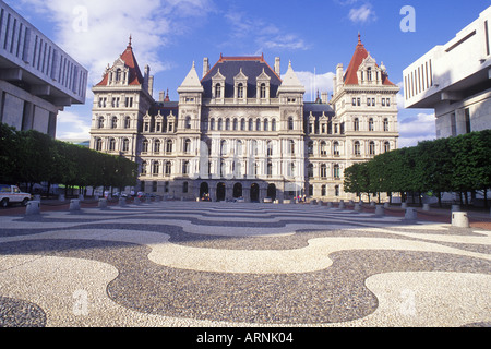 USA New York Albany State Empire State Capitol Building klassische 19. C Architektur - Stockfoto
