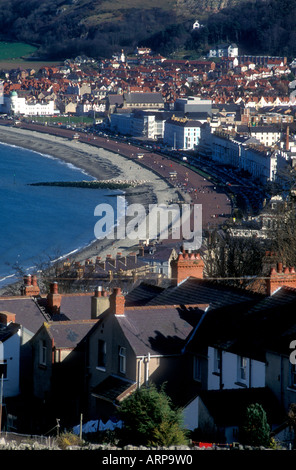 Strand von Llandudno in Nord-Wales, Vereinigtes Königreich - Stockfoto