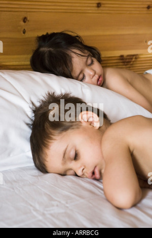 Verschlafene Kinderhotel Abenteuerreisen in Hunza, Pakistan - Stockfoto