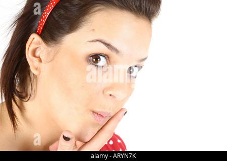 Flirten durch necken
