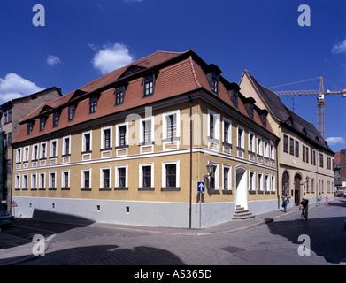 Halle, erst Georg Friedrich Händel, Händelmuseum - Stockfoto