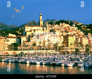 FR - COTE d ' Azur: Menton - Stockfoto