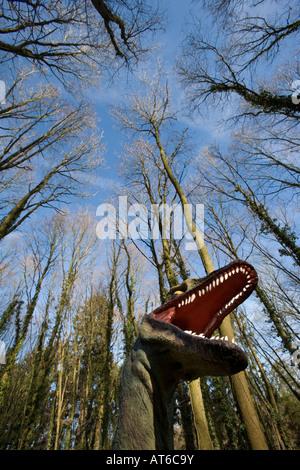 Saurier im Mondo Verde Park
