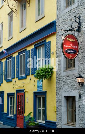 Senken Sie, Quebec Stadt, Kanada - Stockfoto