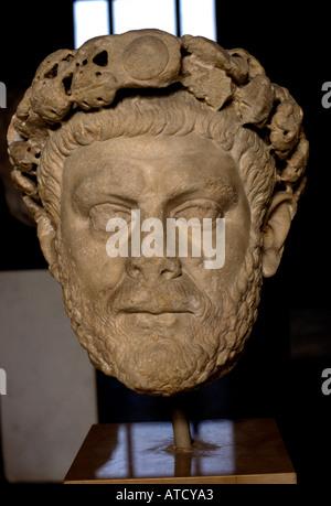 Kaiser Diocletians 284-305 Rom Römermuseum - Stockfoto