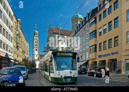AUGSBURG, DEUTSCHLAND - Stockfoto