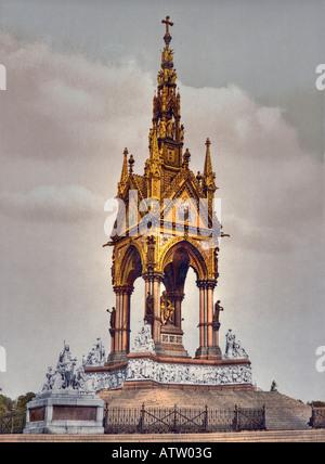 Albert-Denkmal, London, England - Stockfoto