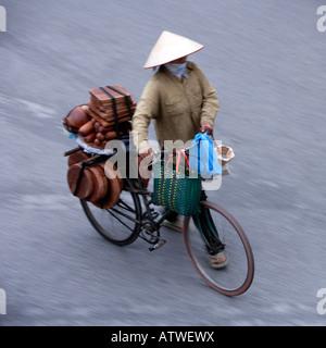 Hanoi Nordvietnam - Stockfoto