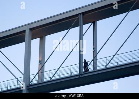 Spree-Brücke, Berlin, Deutschland - Stockfoto