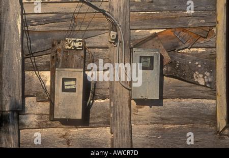 Elektrische Anschlüsse Kuba - Stockfoto