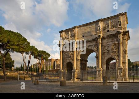 Triumphbogen des Konstantin, Rom, Italien, Europa - Stockfoto