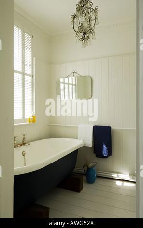 ... Badezimmer Im Haus Eines Bekannten Londoner Küchenchefs   Stockfoto