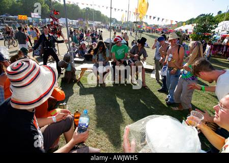 Das Bestival Robin Hill Freizeitpark Newport Isle Of Wight UK England Großbritannien - Stockfoto
