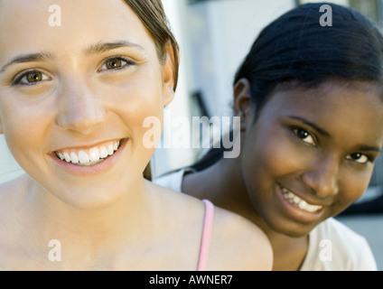 Teenager-Mädchen, Porträt - Stockfoto