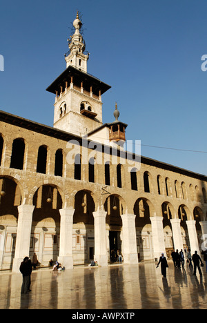 Umayyad Moschee in Damaskus, Syrien - Stockfoto
