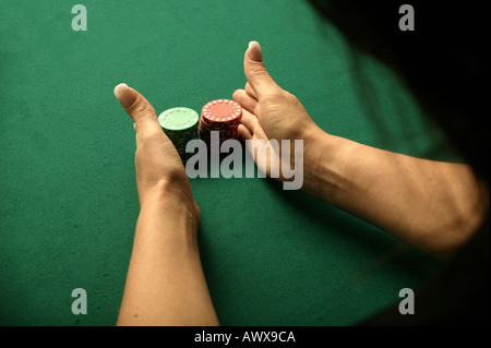 Poker-chips - Stockfoto