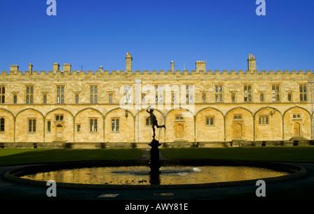 Große Quad Christ Church College Oxford - Stockfoto