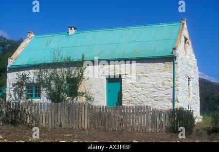 Arbeiter s Cottage Prinz Alfred Pass in der Nähe von Knysna Südafrika Western Cape - Stockfoto