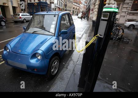 G Wiz GWiz G-Wiz saubere grüne Batterie elektrisch betriebene Fahrzeug Auto Electrobay Elektrobay kostenlos Bucht - Stockfoto