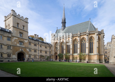 Exeter College in Oxford - Stockfoto