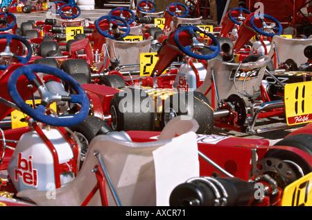 1999-Kart-Cup in Monaco - Stockfoto