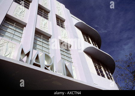 Marlin Hotel Collins Avenue-Miami Beach Florida Amerika - Stockfoto