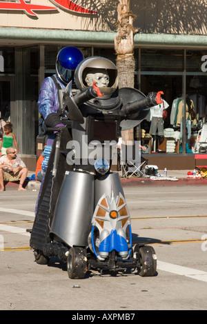 Rael Alien Doo Dah Parade 2005, Colorado Blvd & Pasadena Ave - Stockfoto