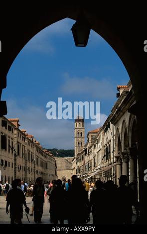 Tor, Dubrovnik, Dalmatien, Kroatien, Europa - Stockfoto