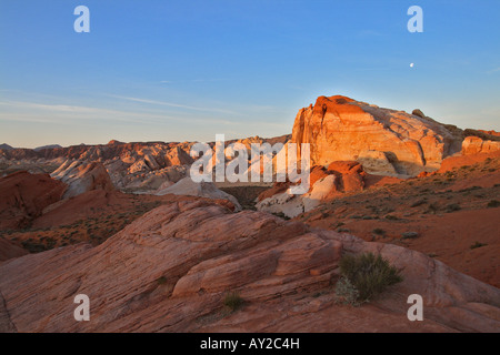 Valley of Fire State Park in Nevada - Stockfoto