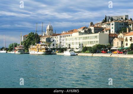 Kroatien-Sibenik - Stockfoto