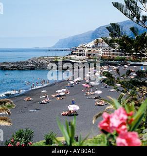 Santiago, Playa de la Arena Strand auf Teneriffa - Stockfoto