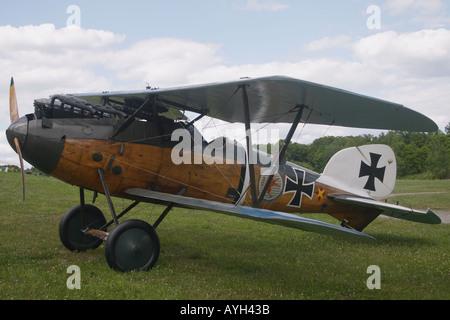 Albatros-Doppeldecker - Stockfoto