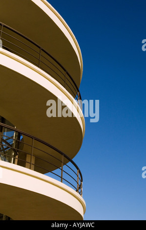 Der De La Warr Pavilion in Bexhill on Sea, East Sussex. Bild von Jim Holden. - Stockfoto