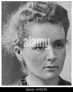 Marie Curie 1910 - Stockfoto