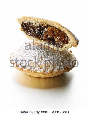 Mince Pies Xmas - Stockfoto