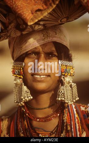 Inderin Calangute Goa Indien - Stockfoto