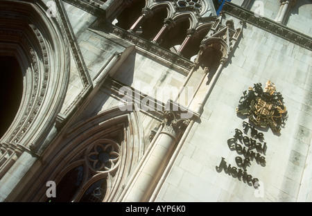 ENGLAND London Bestellung Königliche Gerichtshöfe des Rechts - Stockfoto