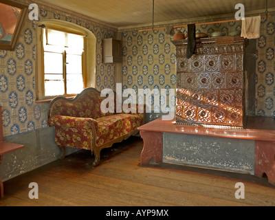 Wohnzimmer mit originalen m beln aus den 50er jahren alte for Wohnzimmer 19 jahrhundert