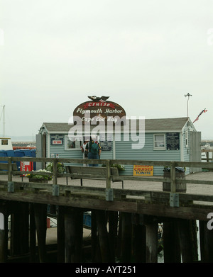 Kreuzfahrt Hafen von Plymouth und Cape Cod Bay Massachusetts USA - Stockfoto