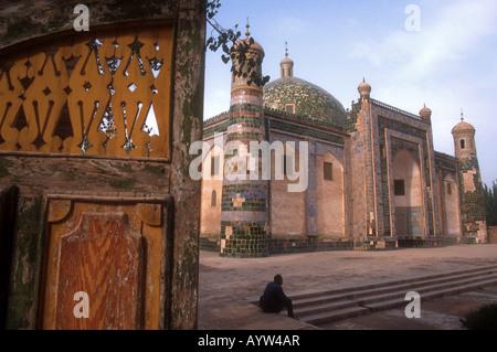 Kashgars Abakh Hoja Moschee Xiangfei Mu Grab oder Mausoleum des Königs von der Bai Shan-Sekte - Stockfoto