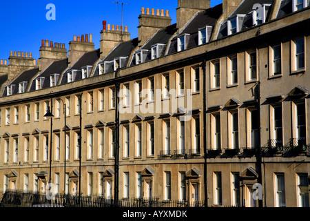 Der Paragon, Bath, Somerset, England - Stockfoto