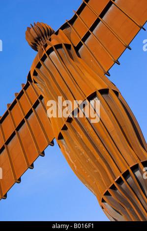 Engel des Nordens von Antony Gormley in der Nähe von Gateshead, Tyne und tragen Team Tal England UK GB EU Europa - Stockfoto