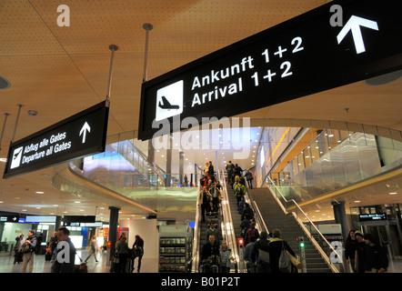 Flughafen zürich ankunft 1 oder 2
