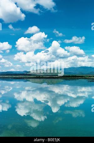 Lake Baringo Great Rift Valley Kenia in Ostafrika - Stockfoto